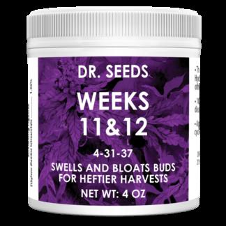 Dr. Seeds Weeks 11 & 12