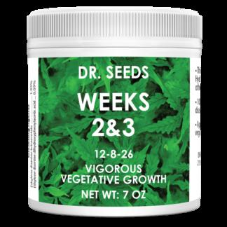 Dr. Seeds Weeks 2 & 3